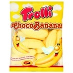 Zefir Trolli Ciocolată/Banană 150g