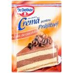 Crema pentru prajituri Dr. Oetker ciocolata 55g