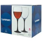 Set pahare vin Luminarc Domino 350ml