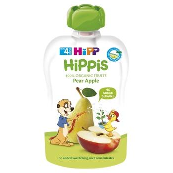 Пюре HiPP яблоко/груша 100г - купить, цены на Метро - фото 1