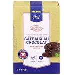 Десерт METRO Chef Gâteaux au Chocolat 2x100g
