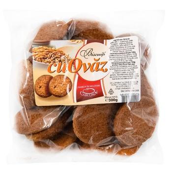 Печенье Cahulpan овсяное 300г - купить, цены на Метро - фото 1