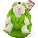 Рюкзак с плюшевой игрушкой