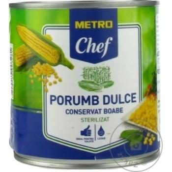 Porumb dulce METRO Chef 400g - cumpărați, prețuri pentru Metro - foto 1