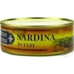 Сардина в масле Латвийская Империя 240г
