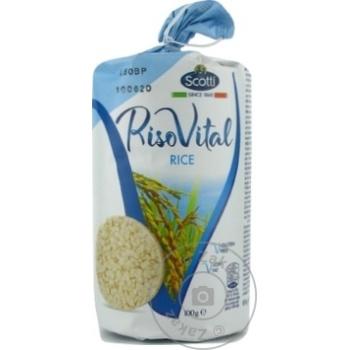 Rondele Riso Scotti de orez 100g - cumpărați, prețuri pentru Metro - foto 1