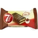 Pandispan 7Days cu cacao glazurat 30g