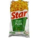 Snackuri Star cu gust de pizza 120g