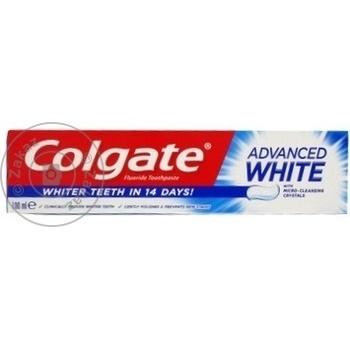 Pasta de dinti Colgate Advaced White 100ml - cumpărați, prețuri pentru Metro - foto 1