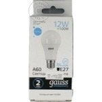 Gauss Bec LED 12W E27 65K A60