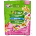 Terci cu lapte Heinz zmeura/afine 200g