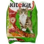 Корм сухой для кошек Kitekat мясо 350г