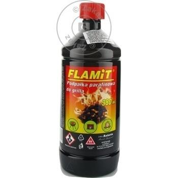 Зажигательная жидкость Flamit 980мл - купить, цены на Метро - фото 3