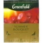Ceai Greenfield cu zmeura in plicuri Summer Bouquet 100x2g - cumpărați, prețuri pentru Metro - foto 3