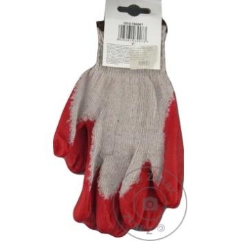 Перчатки Kaem х/б L - купить, цены на Метро - фото 2