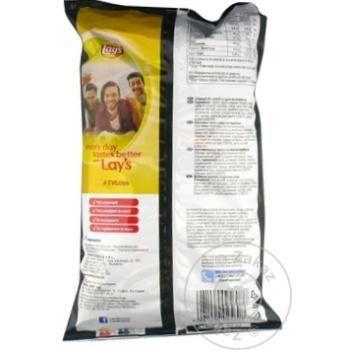 Chips Lay's cu gust de barbeque 140g - cumpărați, prețuri pentru Metro - foto 2