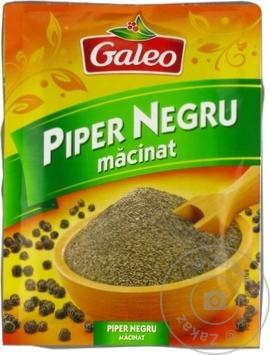 Piper negru măcinat Galeo 17g - cumpărați, prețuri pentru Metro - foto 1