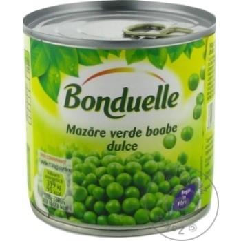 Mazare verde Bonduelle 425g - cumpărați, prețuri pentru Metro - foto 1