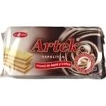 Вафли Bucuria Artec молочные с кофе 160г