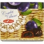 Конфеты Bucuria чернослив в шоколаде в коробке 200г