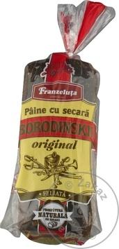 Paine Borodinskii Franzeluta feliata 600g - cumpărați, prețuri pentru Metro - foto 1