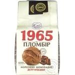 Мороженое пломбир 1965 шоколадное 600г