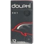 Презервативы Dolphi 3in1 12шт