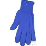 Manusi sintetice albastre PVC