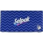 Салфетки в коробке Selpak 3 слоя 100шт