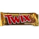 Батончик Twix с печеньем 55г