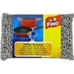 Губка для тефлона Fino 1шт