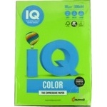 Бумага IQ Интенсив A4 цветная 500л