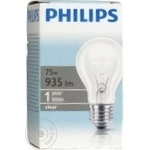 Philips A55 Clear E27 75W 230V