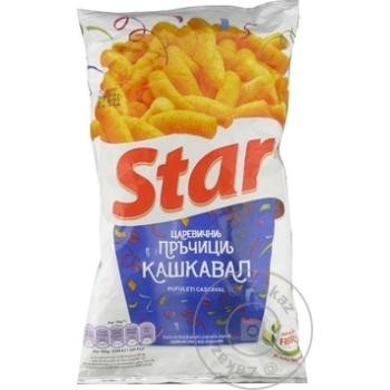 Снеки Star со вкусом сыра 73г - купить, цены на Метро - фото 2