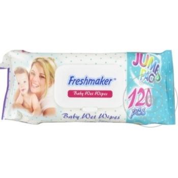 Servetele umede Freshmaker Jumbo 120buc - cumpărați, prețuri pentru Metro - foto 1