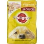 Корм для собак Pedigree курица 100g