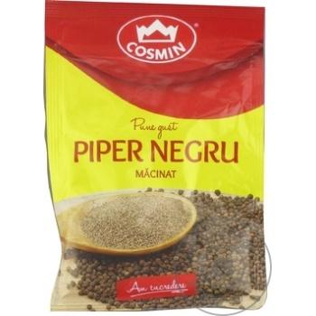 Piper negru macinat Cosmin 17g - cumpărați, prețuri pentru Metro - foto 1