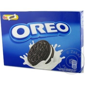 Biscuiti Oreo cu gust de cacao si crema vanilie 228g - cumpărați, prețuri pentru Metro - foto 2
