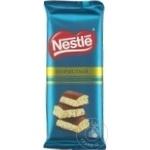 Ciocolata Nestle alba si lapte aerata 82g