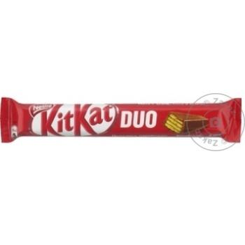 Baton de ciocolata Kit Kat King Duo 58g - cumpărați, prețuri pentru Metro - foto 1