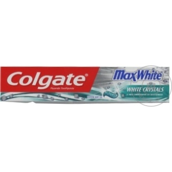 Pasta de dinti Colgate Max White 75ml - cumpărați, prețuri pentru Metro - foto 1