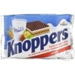 Вафли Knoppers шоколадные 25г