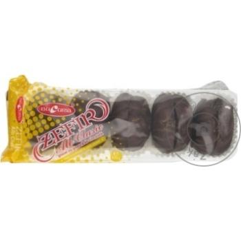 Zefir Bucuria in ciocolata 320g - cumpărați, prețuri pentru Metro - foto 1