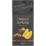 Ciocolata Bucuria portocala si migdale 100g