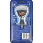 Бритвенный станок+1кас Flexball Power Gillette