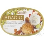 Înghețată Sandriliona Vanilie/caramelă 550g