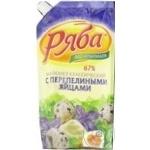 Maioneza cu oua de prepelita Riaba 67% 372g
