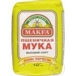 Мука пшеничная Makfa 1кг