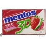 Жевательная резинка Mentos 3D ассорти 33г