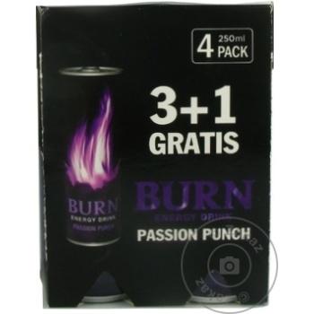 Bautura energizanta Burn Punch 0,25l x 4buc - cumpărați, prețuri pentru Metro - foto 2